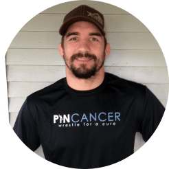 brent metcalf wrestling pin cancer
