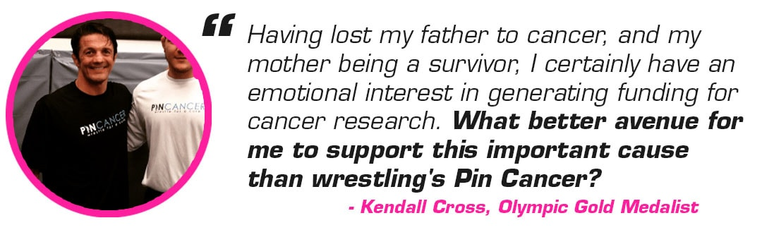 Kendall Cross Pin Cancer