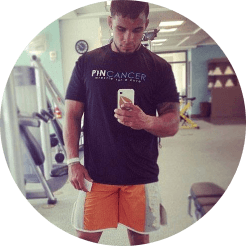 dennis bermudez ufc fighting pin cancer